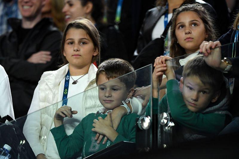Roger Federer's Kids