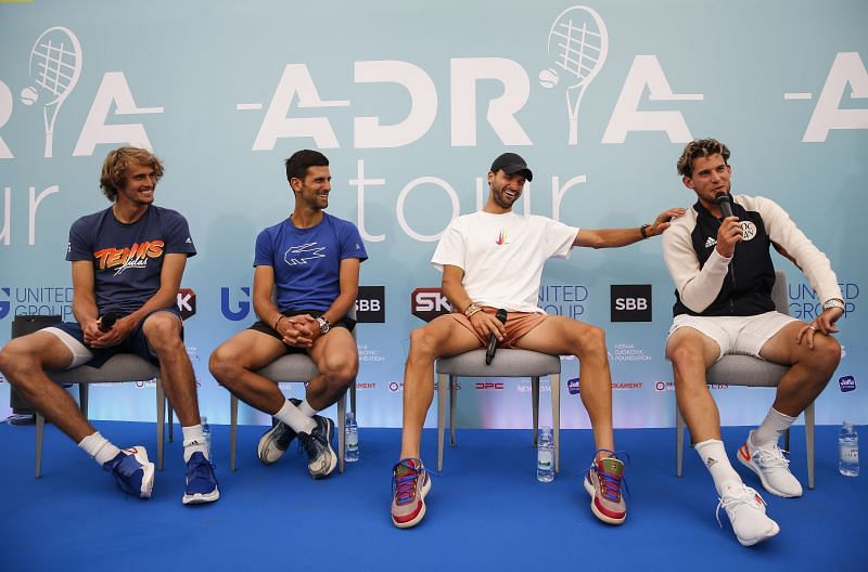 Grigor Dimitrov was the first player to test positive on Novak Djokovic