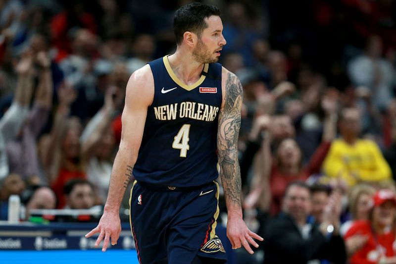 JJ Redick in action for the New Orleans Pelicans