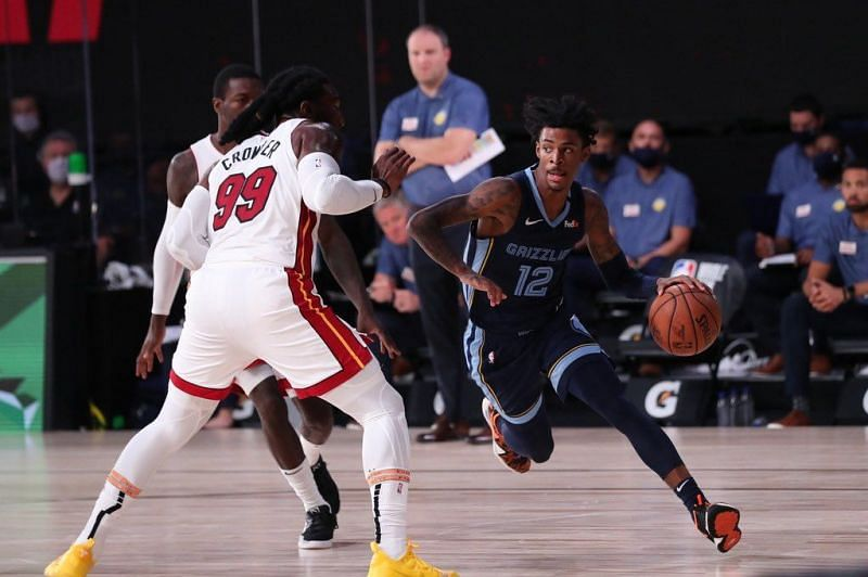 Ja Morant sizzled throughout the game