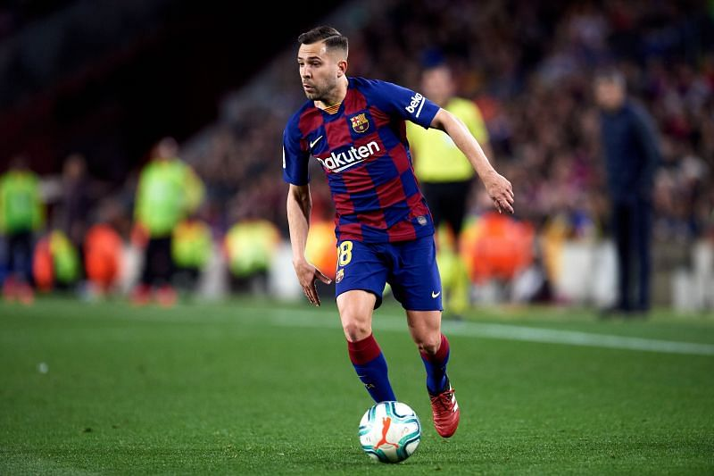 Jordi Alba has given Barca eight years of pure quality.