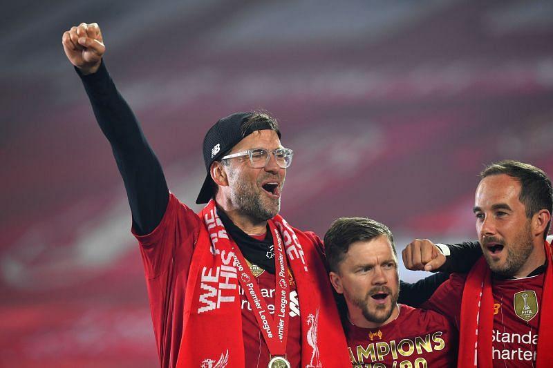 Jurgen Klopp hinted at Lampard