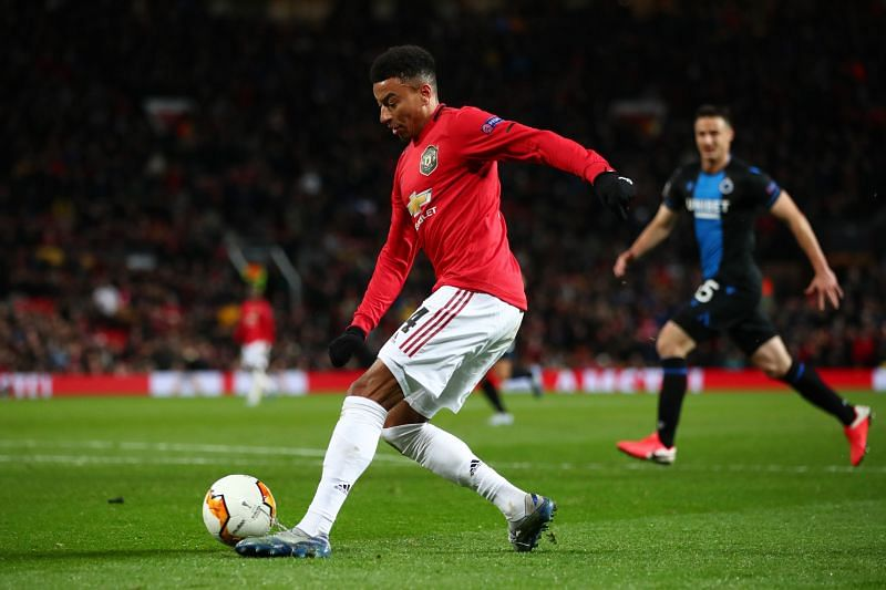 Jesse Lingard has had an underwhelming season for Manchester United