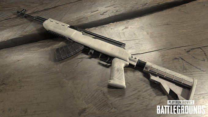 PUBG Mobile SKS gun (Image via Twitter)