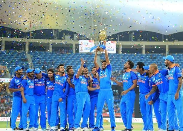 भारतीय टीम एशिया कप की गत विजेता है