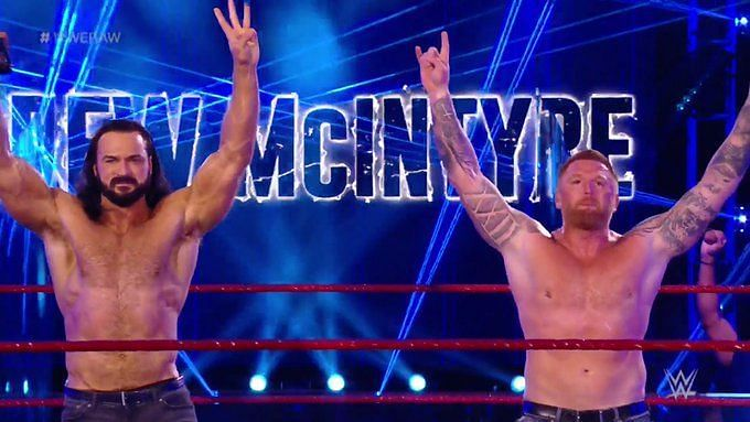 Drew McIntyre and Heath Slater shared a very emotional moment