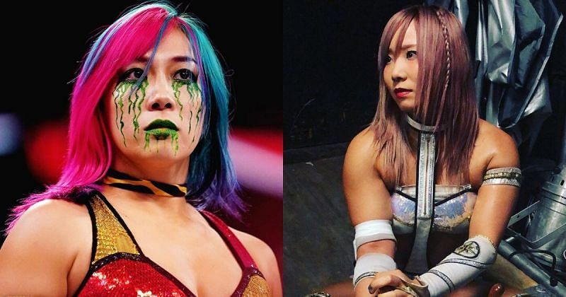 Asuka and Kairi Sane.