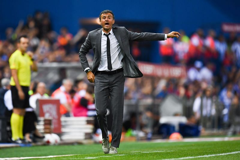 The appointment of Luis Enrique did not go down well with some supporters who wanted Barcelona to play in