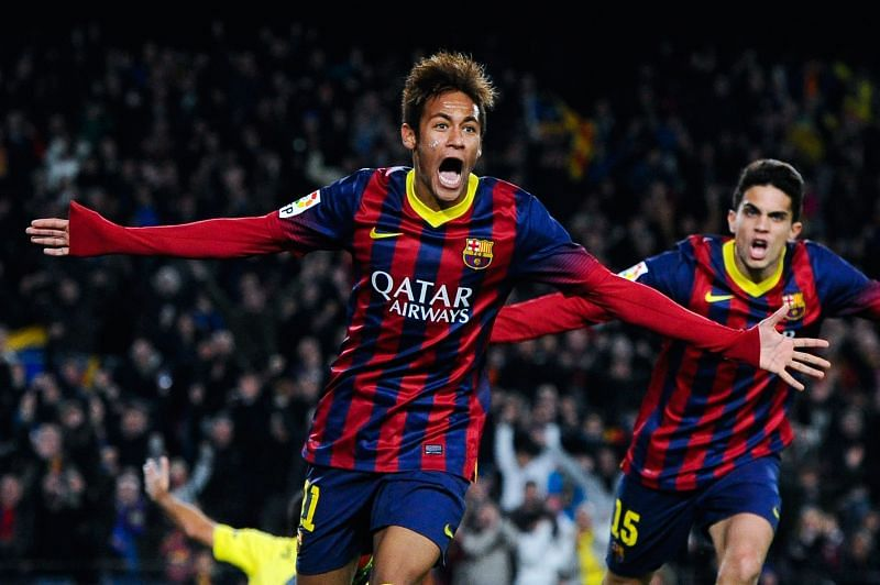 Neymar was sensational for Barcelona