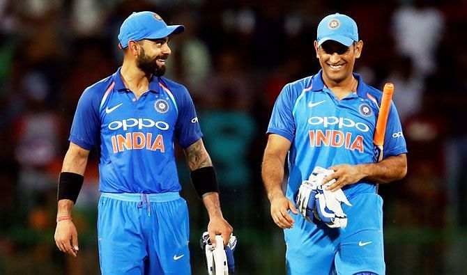 Virat Kohli took over from MS Dhoni as the captain of India
