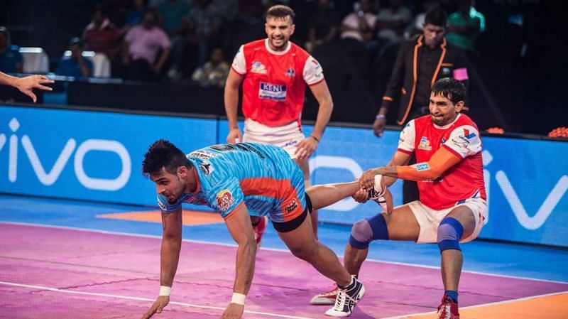 Surender Nada possesses one of the deadliest ankle holds in the game.