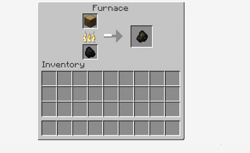 Adding wooden item to make Charcoal