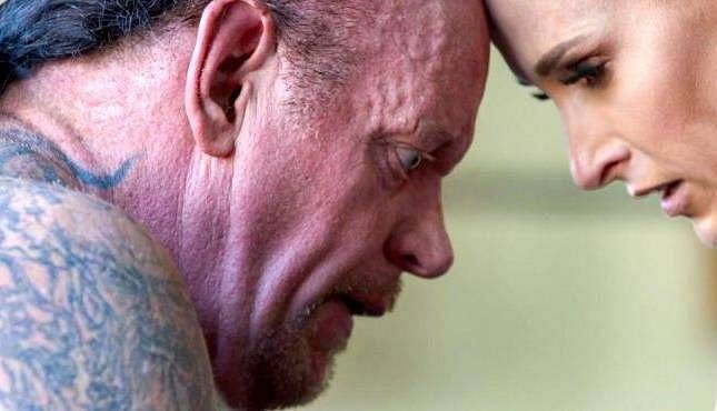 The Undertaker with his wife, Michelle McCool