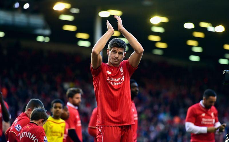 Steven Gerrard is a Liverpool legend