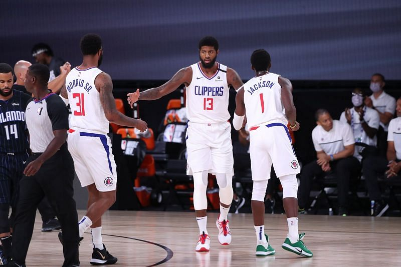 Paul George brought out all the moves in LA Clippers