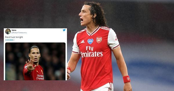 David Luiz was exceptional for Arsenal
