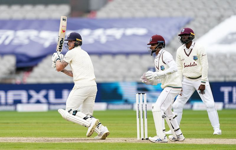 Ben Stokes scored an excellent century against West Indies in Manchester