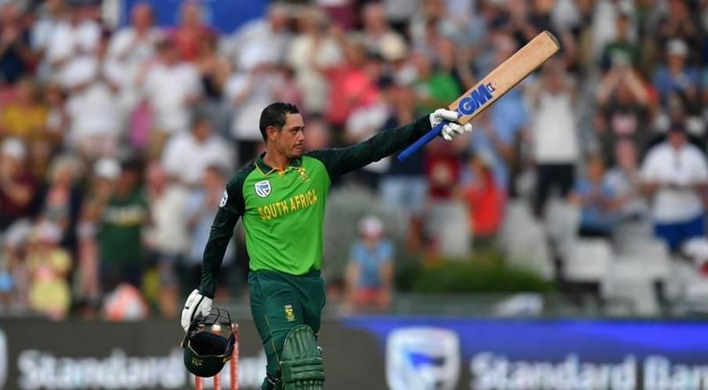 Quinton de Kock won the majority of awards in the men
