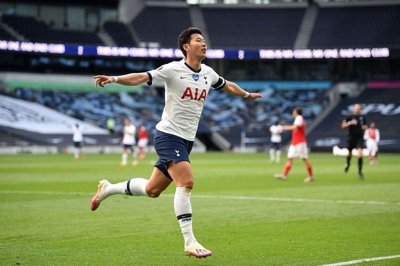 Son Heung-min scored the equaliser against Arsenal.