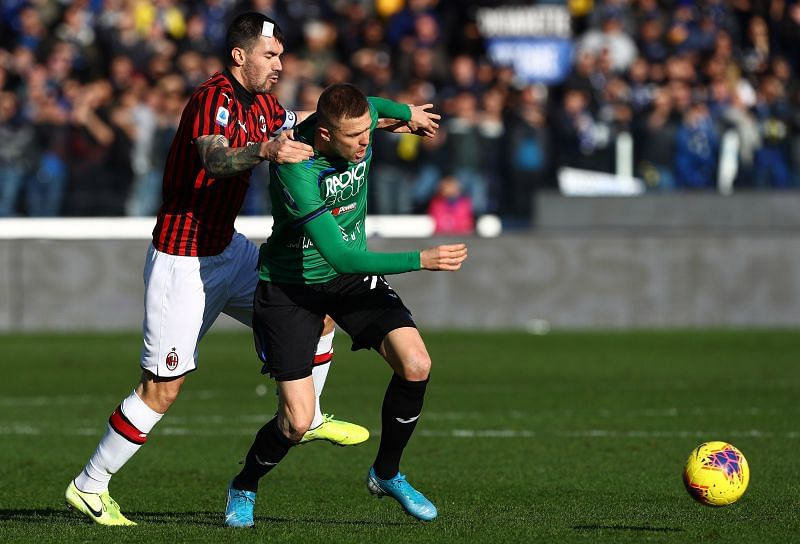 AC Milan will face an in-form Atalanta side