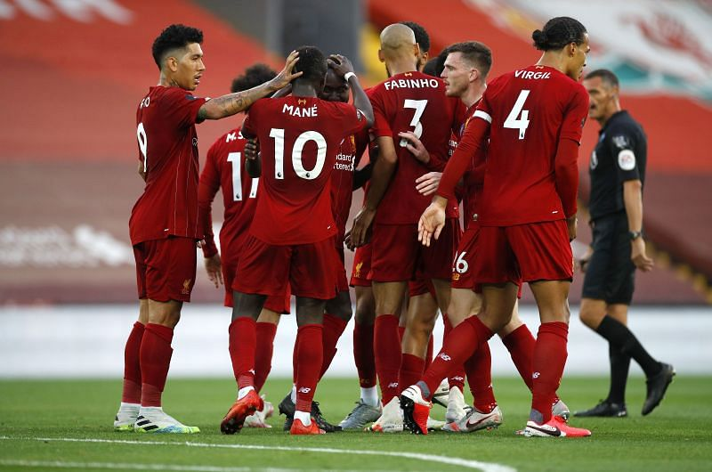 Liverpool emerged victorious on the night