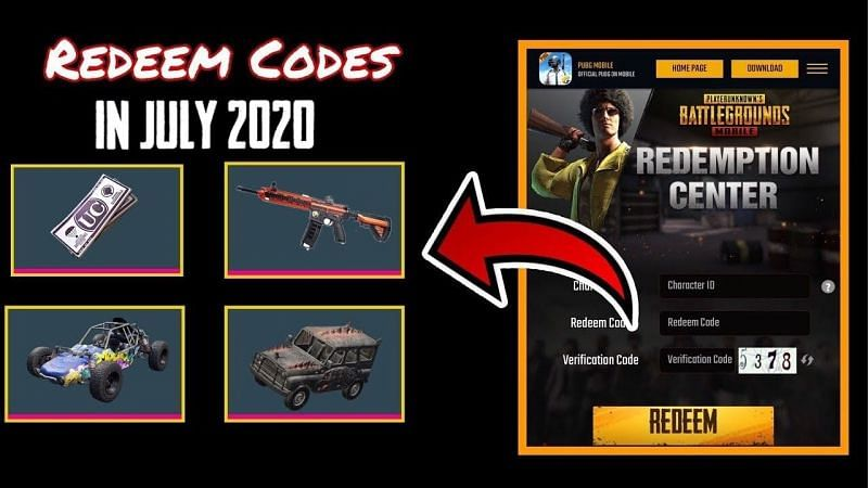 All redeem codes in July 2020 (Picture Source: Shamsi Bhai /YouTube)