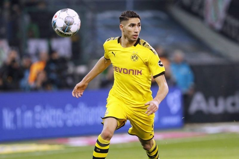 Real Madrid full-back Achraf Hakimi was sold to Inter Milan for €40 million