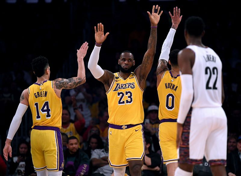 LeBron James hopes to lead the LA Lakers to a championship this year