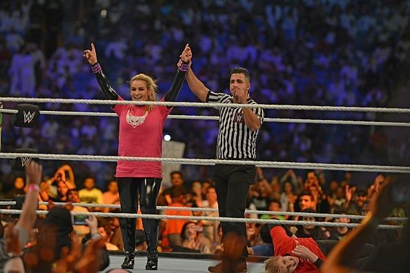 Natalya was the victor of the first-ever women