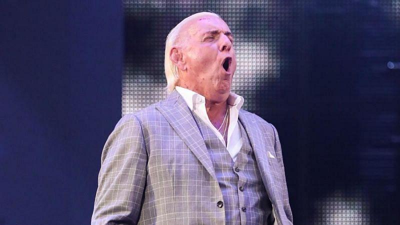 Ric Flair on WWE RAW