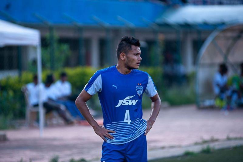 Nishu Kumar has been a key player of Bengaluru FC in the last three seasons.