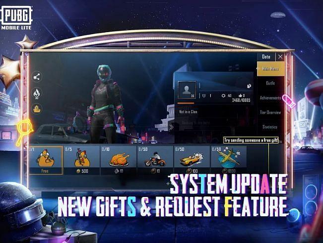 PUBG Mobile Lite'da yeni hediye özelliği