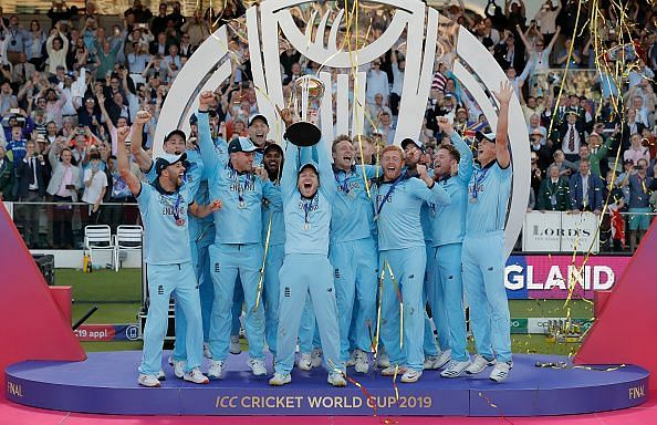 England are defending ODI World Cup champions.
