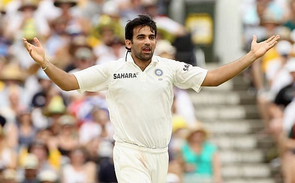 Zaheer Khan played 92 Test matches for the Indian cricket team