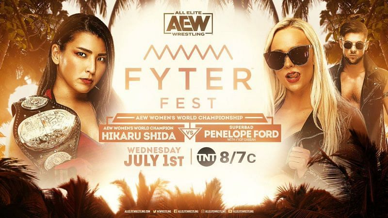 Hikaru Shida and Penelope Ford had a fantastic match at AEW Fyter Fest Night One.