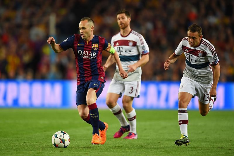 Barcelona and Bayern Munich have had memorable clashes in recent times.