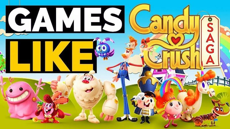 5 Best Android Games Like Candy Crush Saga