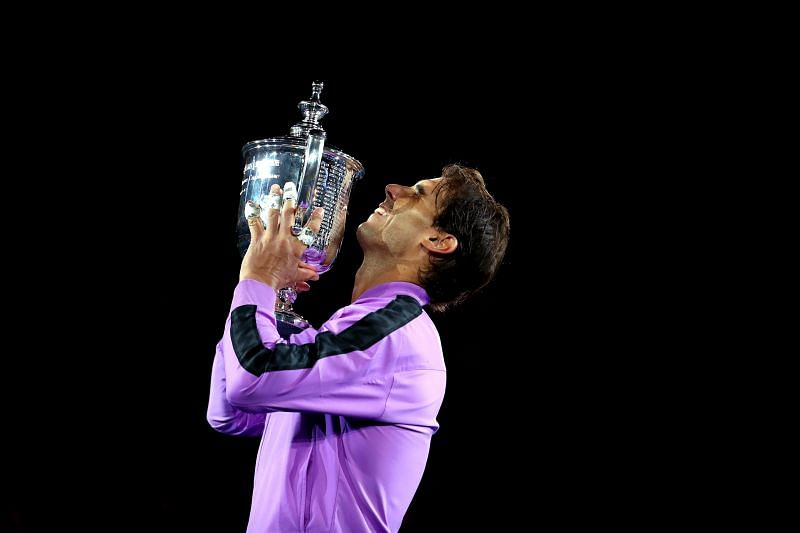 Rafael Nadal is the defending US Open champion