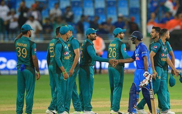 पाकिस्तान  vs इंडिया