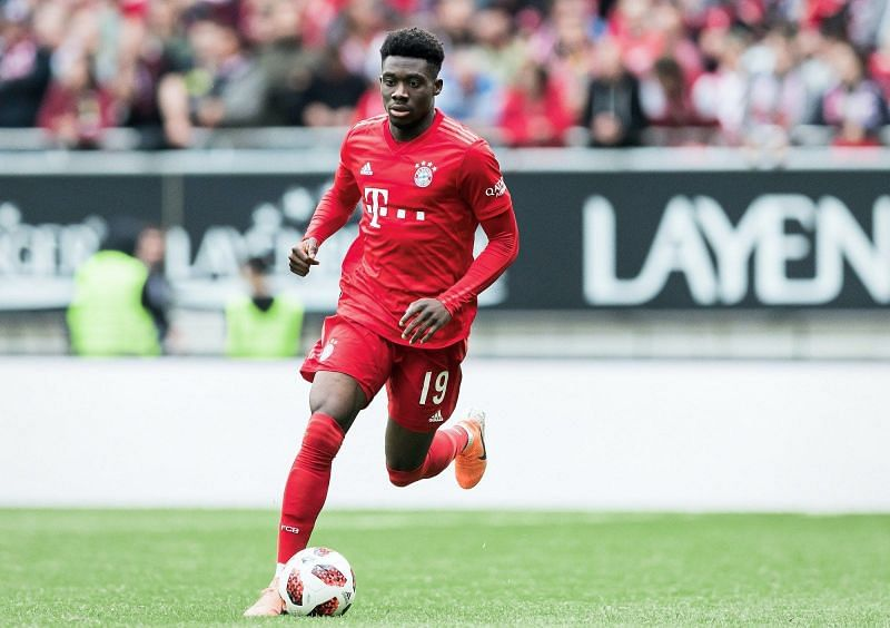 Bayern Munich defender Alphonso Davies has included himself in the best full-backs list