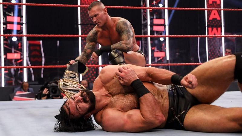 Randy Orton and Drew McIntyre will finally tear it up