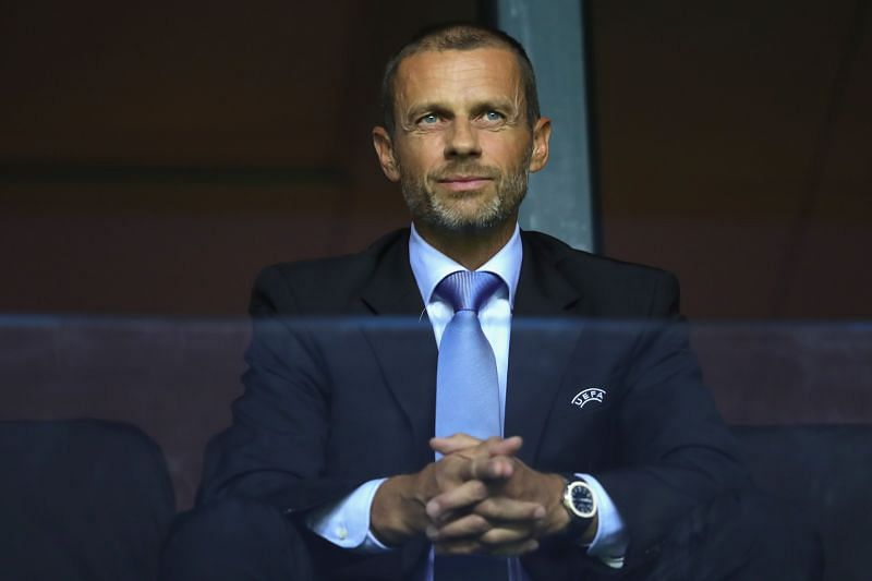 UEFA president Aleksander Čeferin has announced a different format for the Champions League this season.