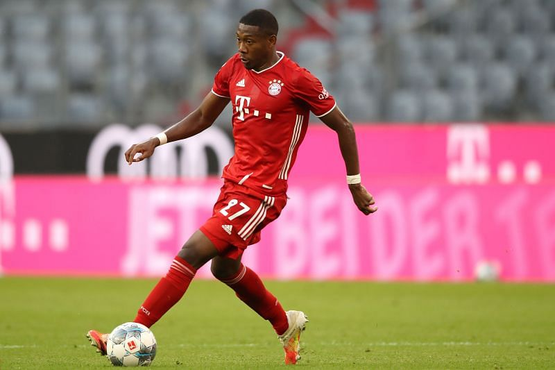David Alaba has one year left in his Bayern Munich contract