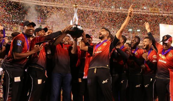 Trinbago Knight Riders have won the title thrice with the last victory coming in 2018