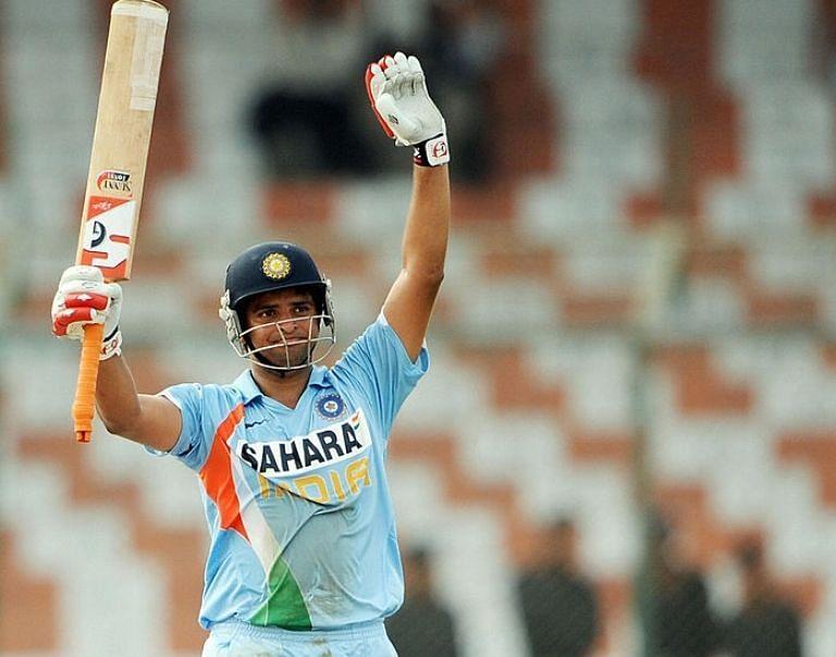सुरेश रैना का पहला वनडे शतक हांगकांग के खिलाफ एशिया कप 2008 में आया था