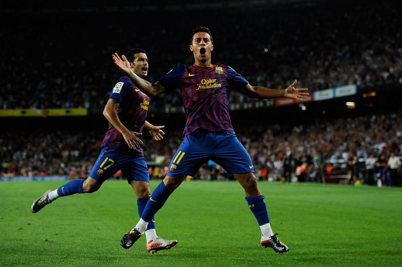 Thiago is a youth product of FC Barcelona