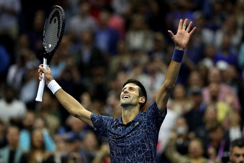 Novak Djokovic at the US Open