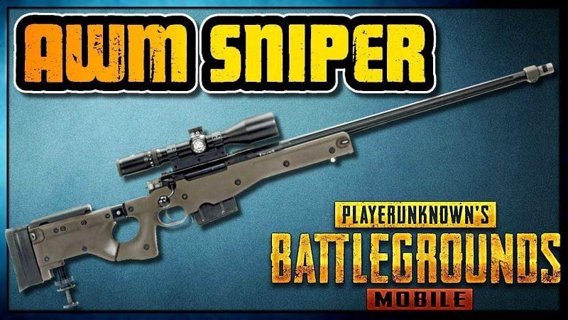 PUBG Mobile AWM gun (Image via YouTube)