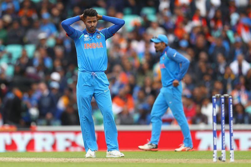 Hardik Pandya did not play much cricket in 2020