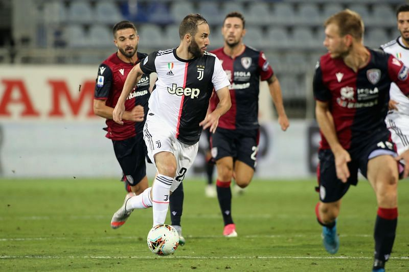 Serie A champions Juventus suffered a shock defeat to Cagliari on Wednesday night
